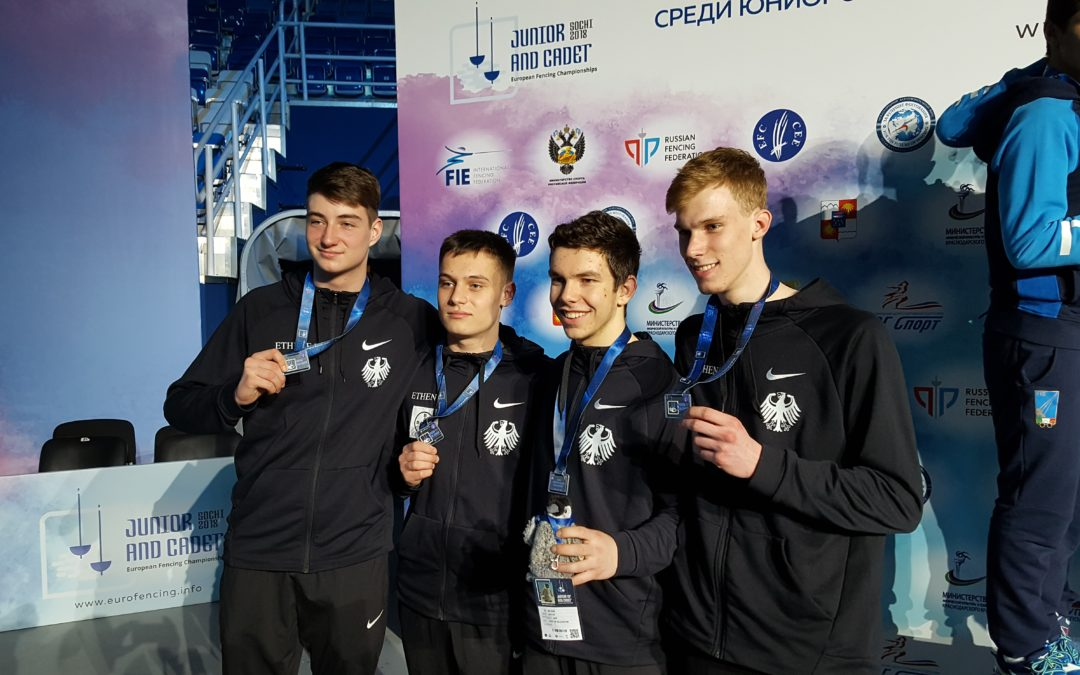 Paul Veltrup gewinnt bei EM Team-Silber