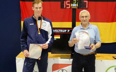 Paul Veltrup ist Deutscher Meister der U20 im Degenfechten