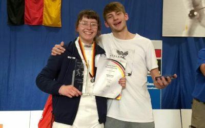 Degenfechterin Jennifer Tuttla gewinnt DM-Silber
